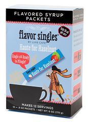 Luxe Cafe Haute for Hazelnut Flavor Singles