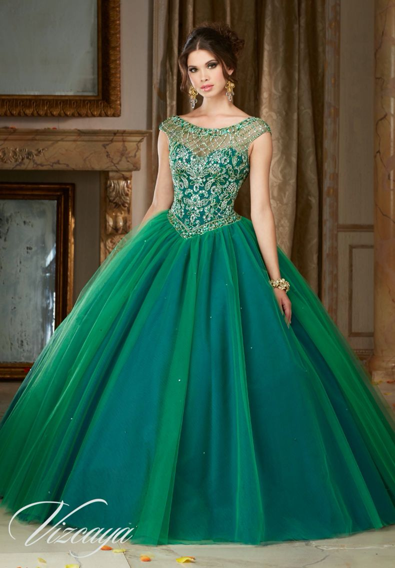 Morilee Vizcaya Quinceanera Dress 89104 JEWELED BEADING ON A ...
