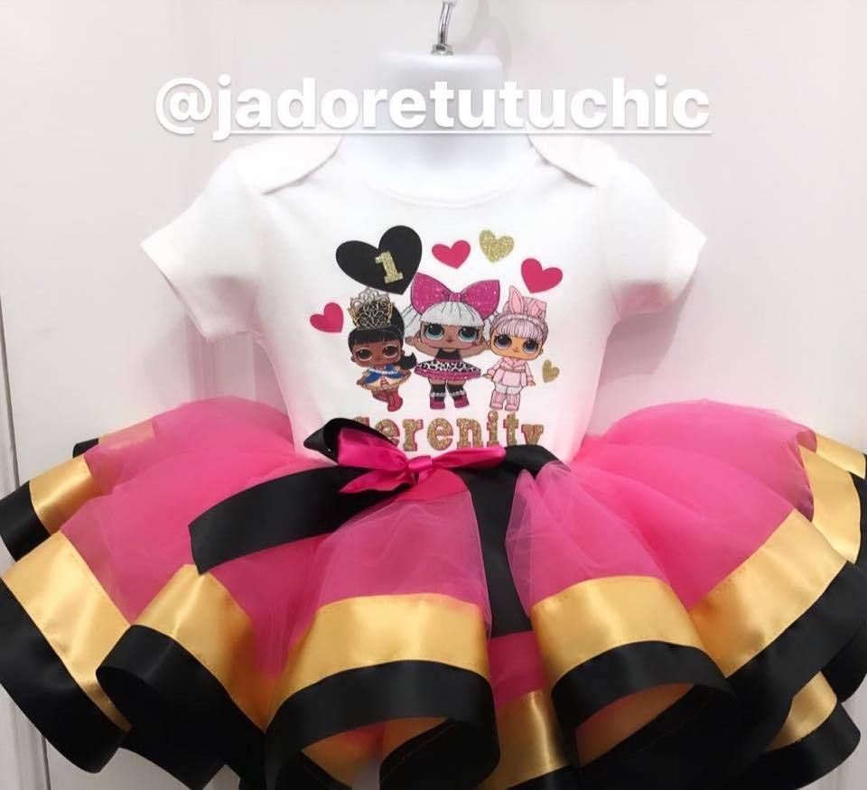Lol surprise birthday outfit lol doll tutu outfit lol