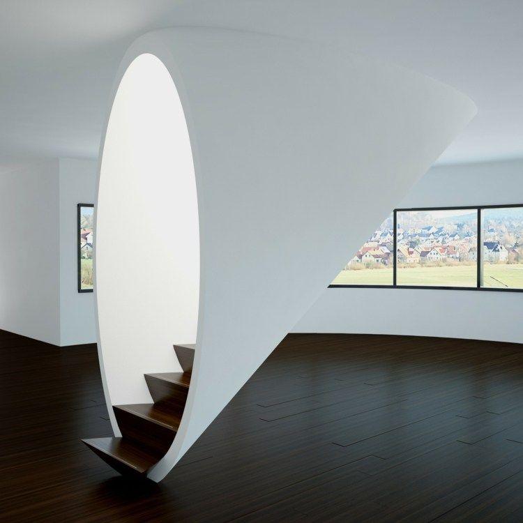Escaleras interiores Ideas inspiradoras para ambientes modernos