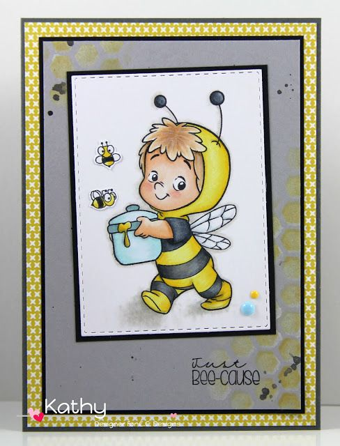 CC Designs,Bee Henry, Just Bee-cause, honeycomb stencil