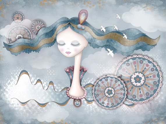 Soraya Matos #art #illustration #dream