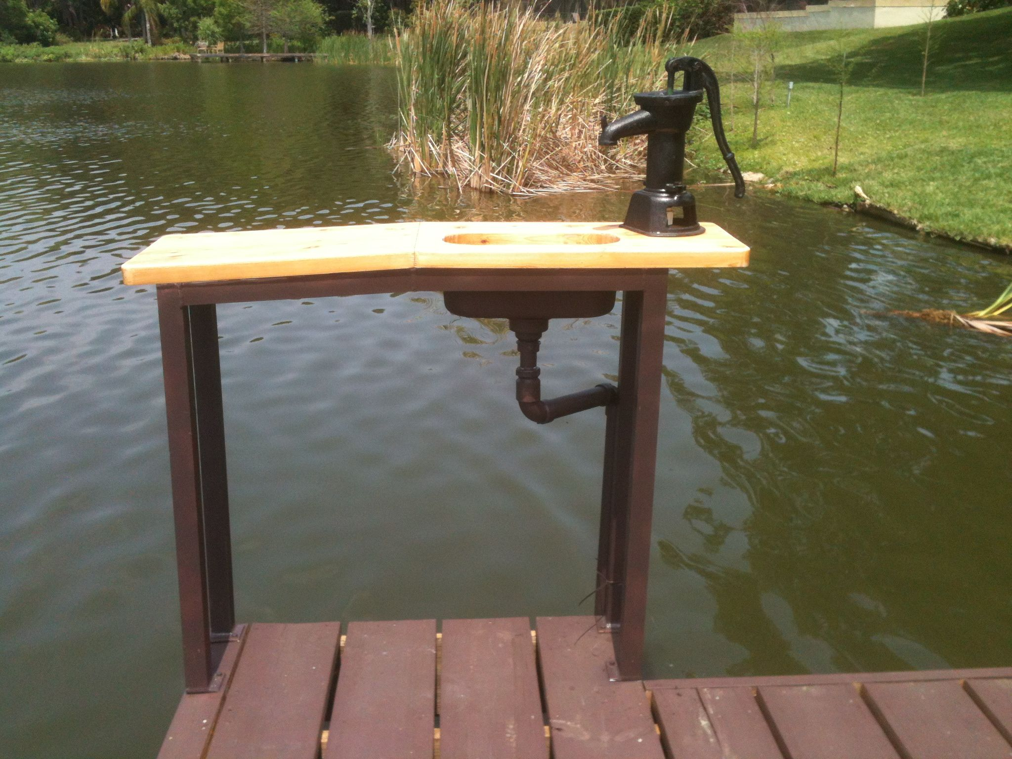 Uncategorized Dock Design Ideas best 25 dock ideas on pinterest lake boat and custom fish cleaning table i made with stainless sink hand pump cedar top