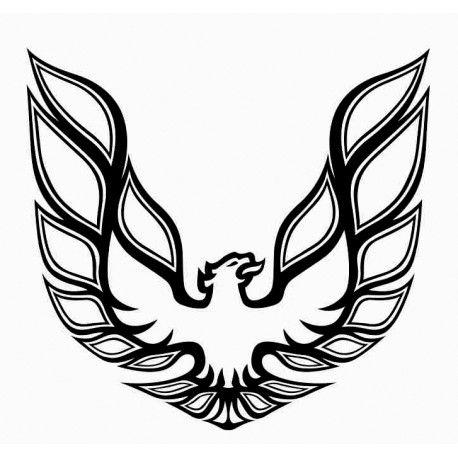 Trans Am Phoenix Vinyl Decal For Sale Firebird Phoenix Tattoo Tattoo Sleeve Designs