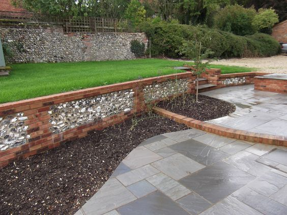Image result for grey porcelain stone garden patio ...