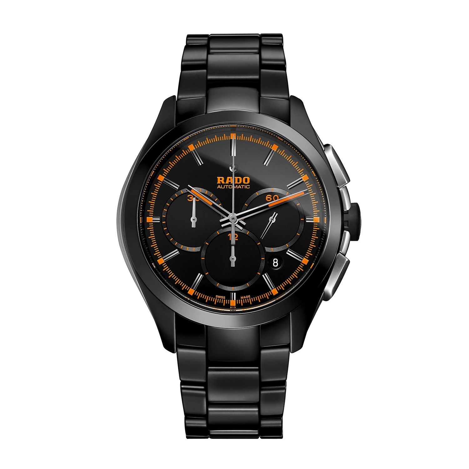 Rado Hyperchrome Xxl Chronograph Automatic R32525162 In 2020 Swiss Watches Best Watches For Men Chronograph