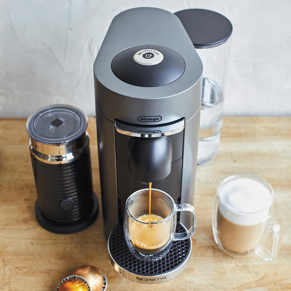 Nespresso VertuoPlus Deluxe by De'Longhi with Aeroccino3