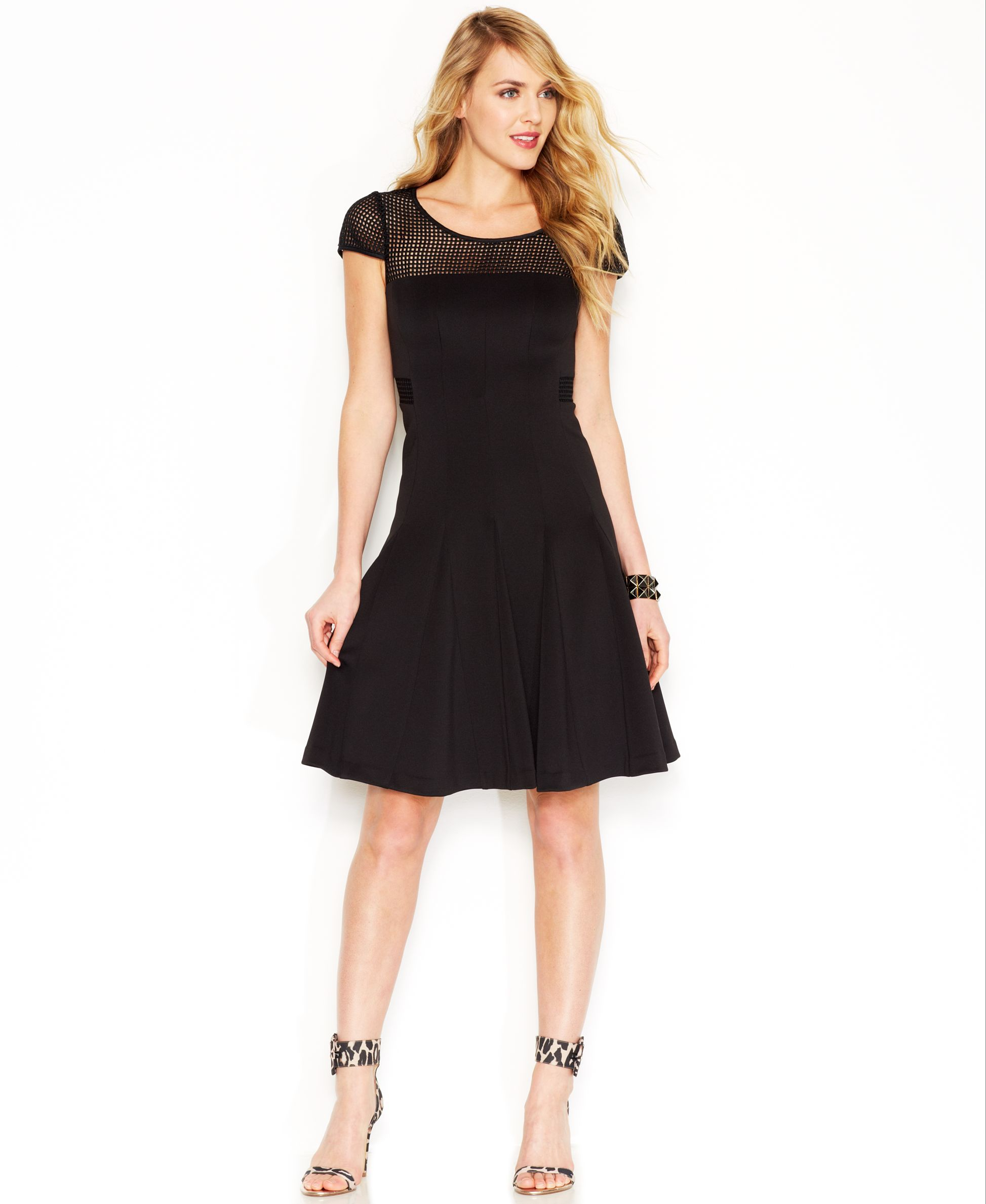 Betsey Johnson Fit and Flare Dress | Products | Pinterest