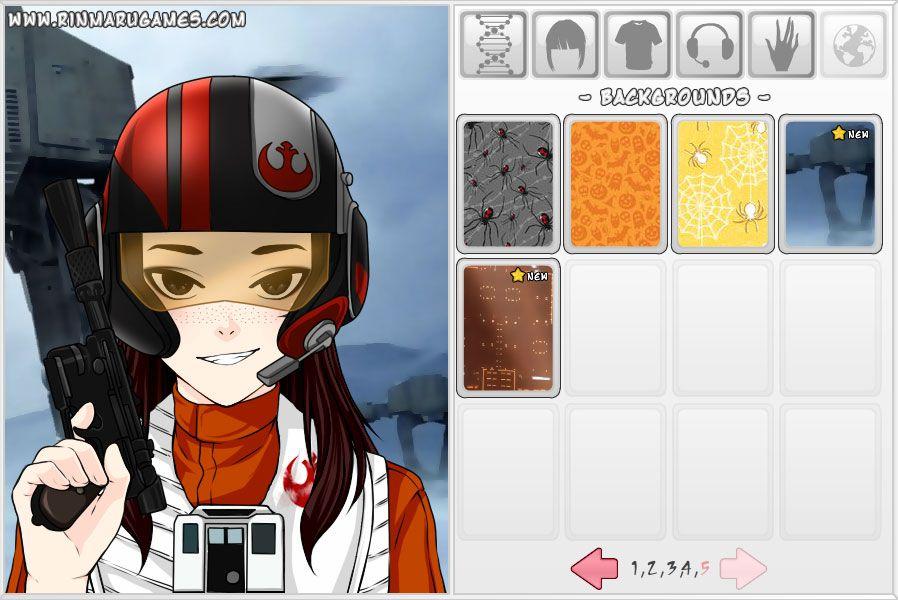 Mega anime avatar creator screen shot 1 with images
