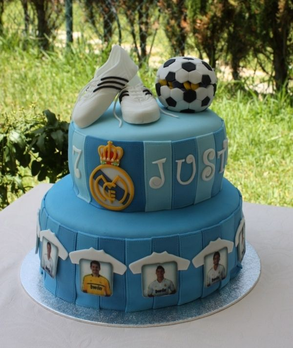 Cake Real Madrid Pinterest