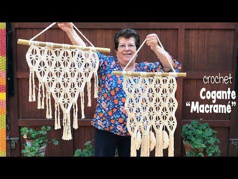 Colgante imitación MACRAMÉ tejido a crochet 😁 / Tejiendo Perú - YouTube