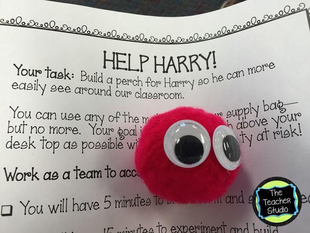 Help Harry Team Building Activity
