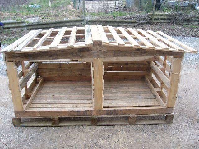 Riciclare Pallet Come Costruire Un Pollaio Gabbie Per