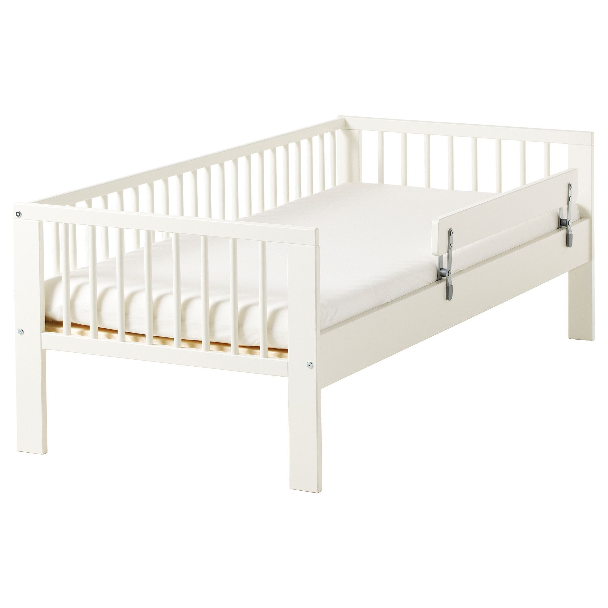 Adapt this IKEA bed by cutting the legs off and turn this in to a