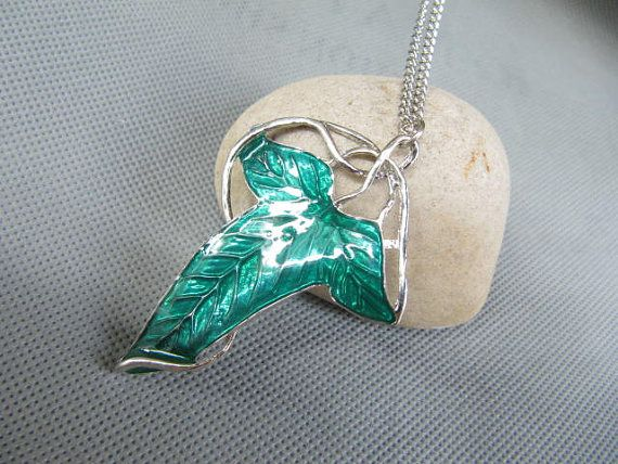 the lord of the rings jewelry legolas necklace by ...
