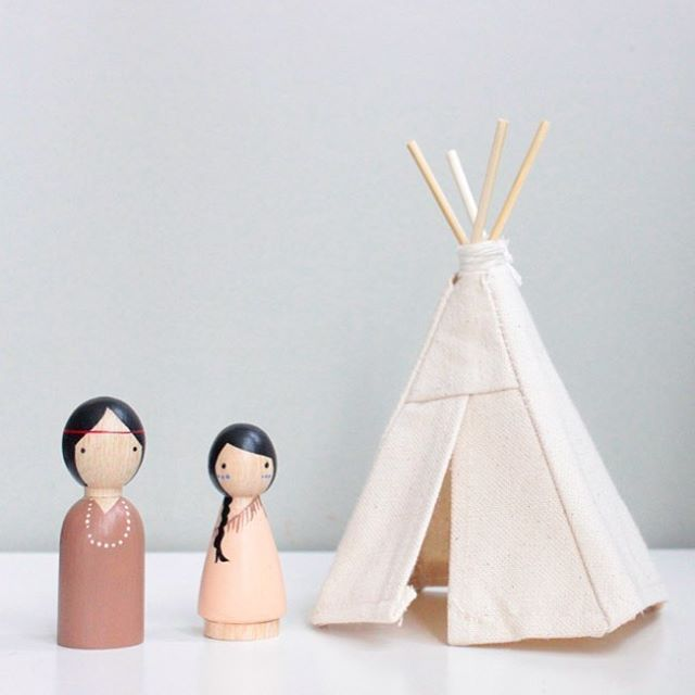 Pity, that Indian tee pees for dolls