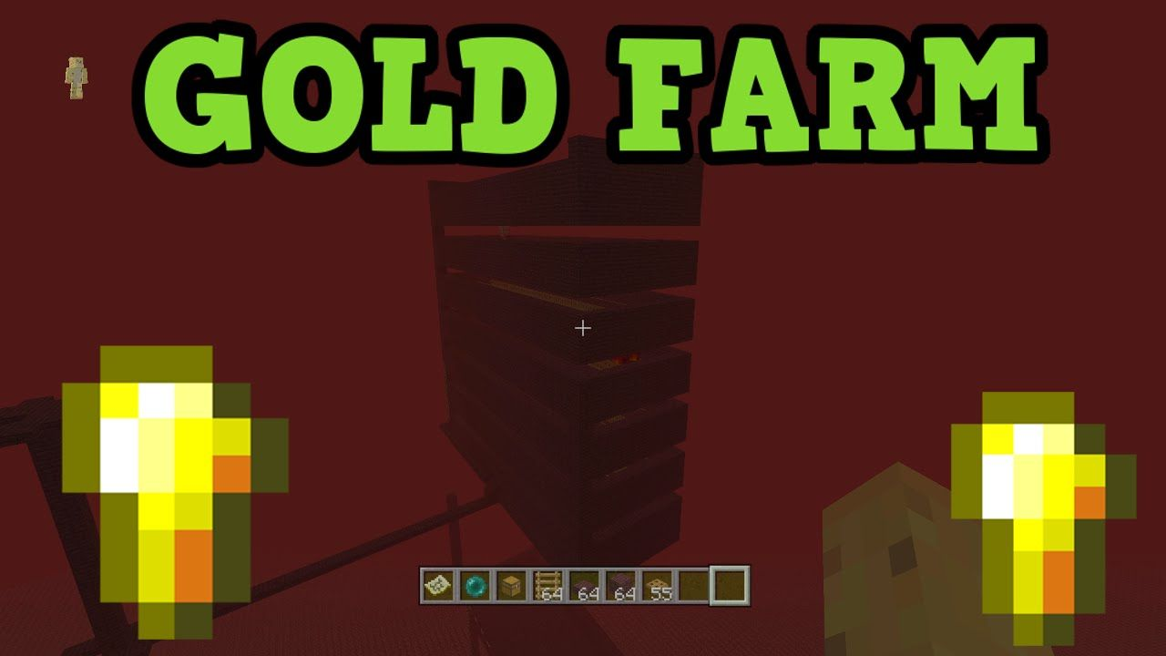 Minecraft xbox 360 ps3 gold farm on top of nether tutorial minecraft xbox 360 ps3 gold farm on top of nether tutorial ccuart Image collections