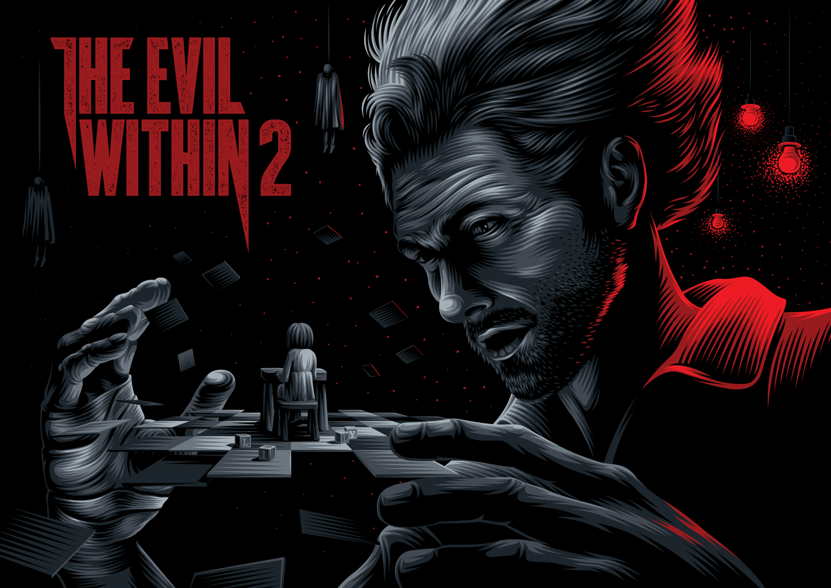 The Evil Within 2 on Behance Игры