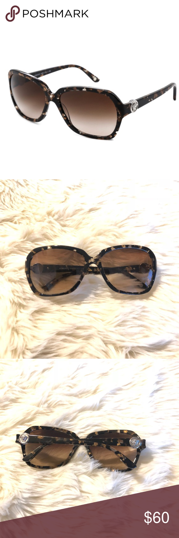 e8adeb75e2a4d Versace VE 4218B Sunglasses CONDITION  Gently Used Lens scratches ...