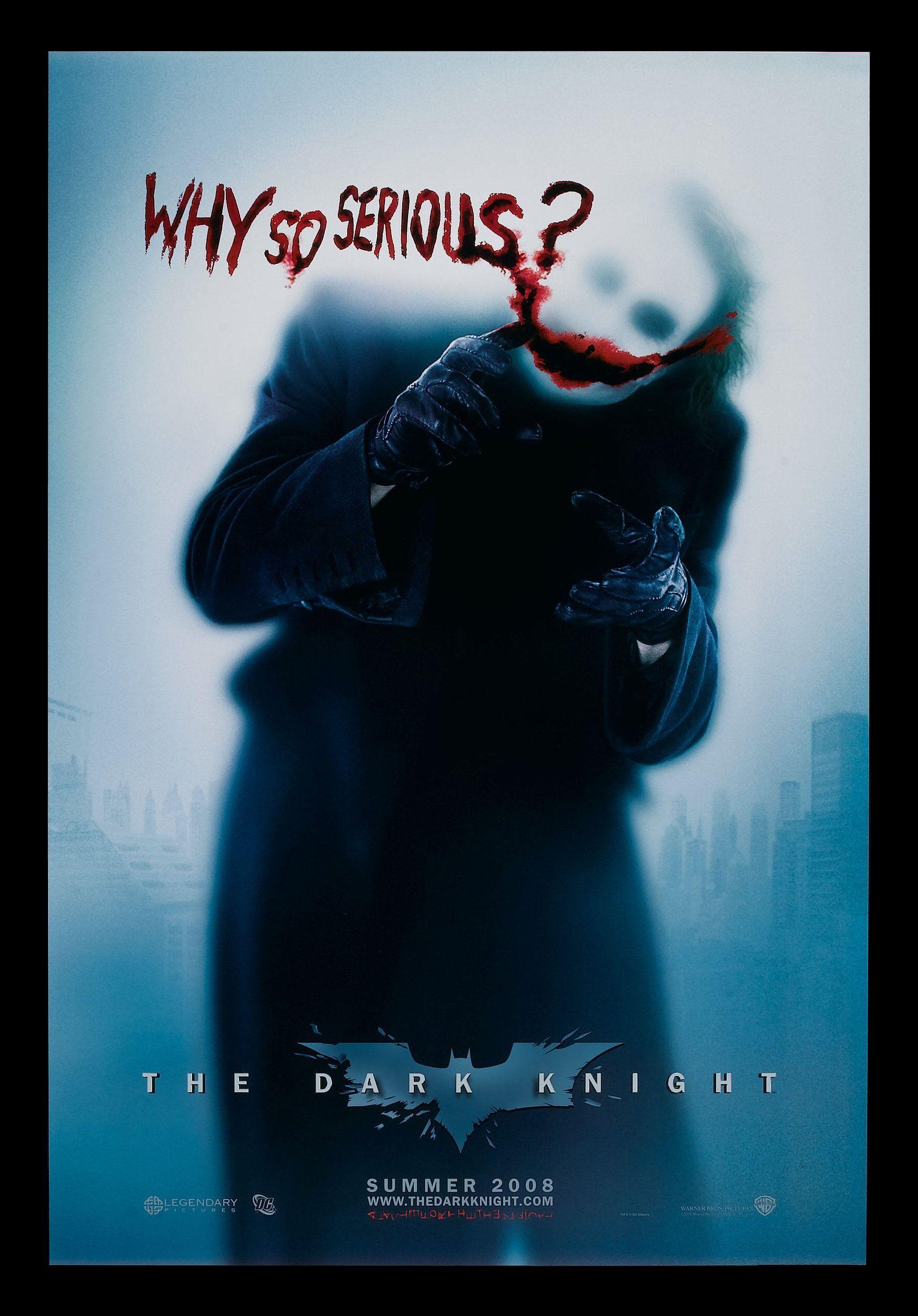 batman poster joker why so serious the