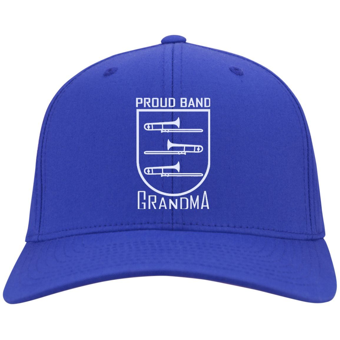 Trombone Grandma Crest Snapback Cap