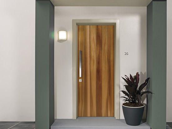 Corinthian Shiplap Cedar Front Door Modern Door Front Entry Doors Retro Front Door