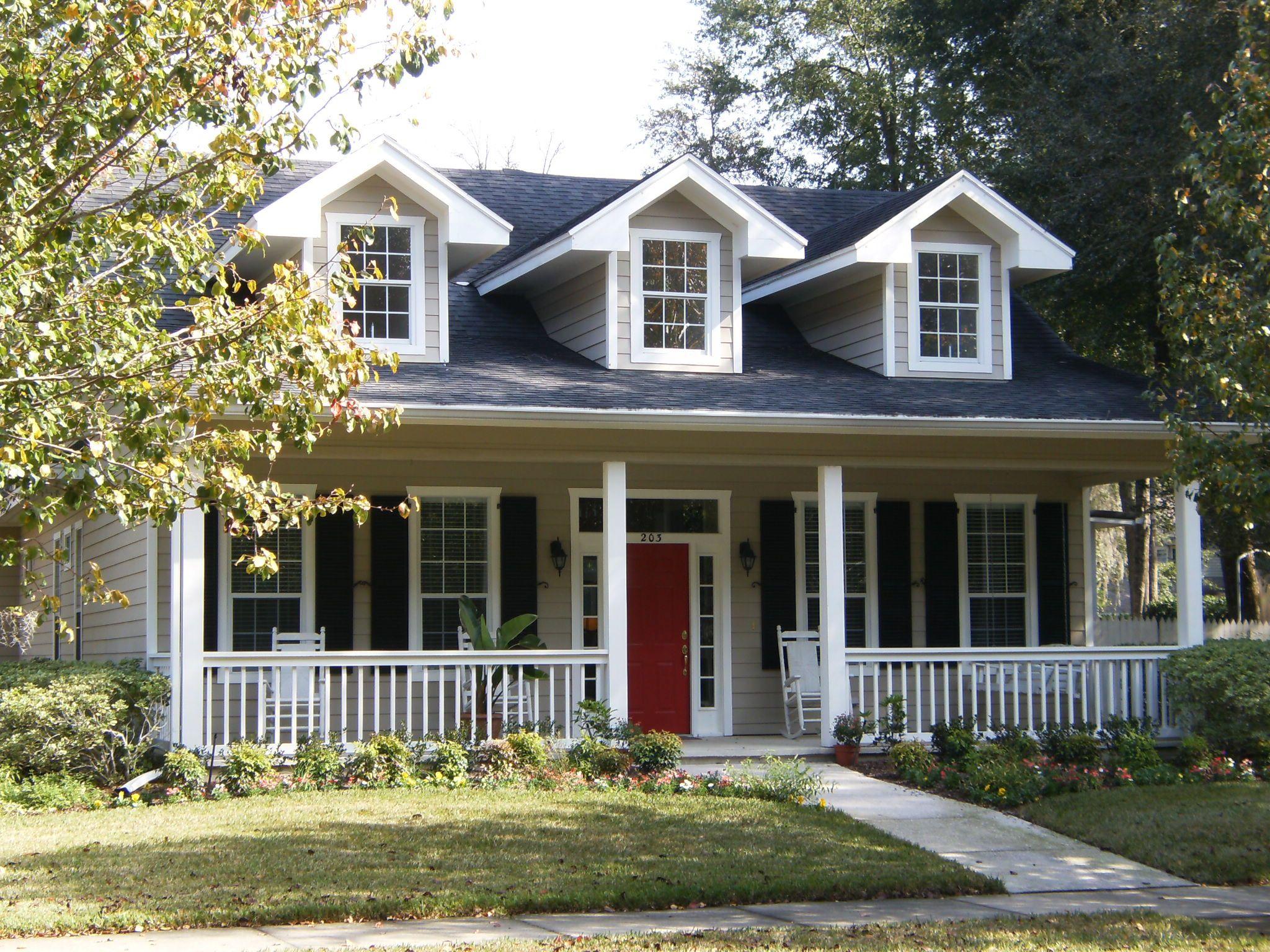 Image gallery modelos de casas americanas for Modelos de fachadas de casas