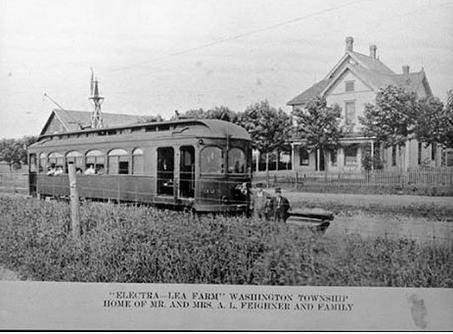 The Albert L Feighner Farm In Washington Township 1910