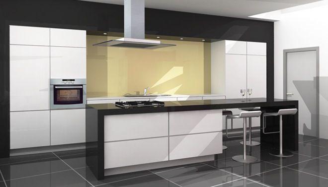 Keuken  Met werblad    bar   Kitchen   Pinterest   Keukeneiland, Keuken en Moderne keukens