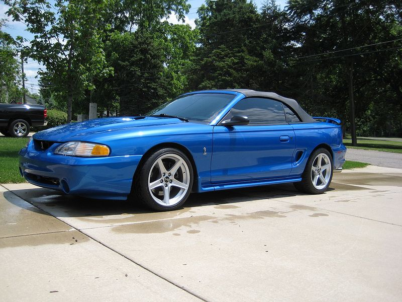 1998 Ford Mustang Svt Cobra Convertible Ford Mustang Convertible Ford Mustang Cobra Fox Body Mustang