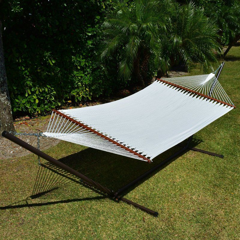 Caribbean Double Hammock with Stand Double hammock with