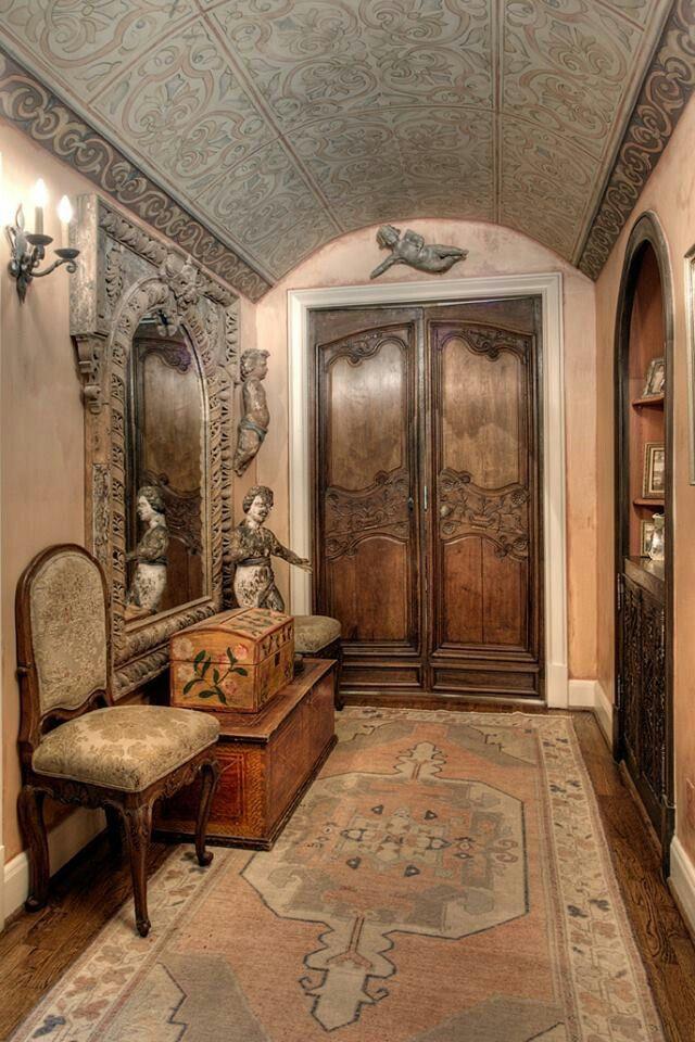 Ornate carved doors, ornate mirror Bohemian My Way (Sweet Gypsy