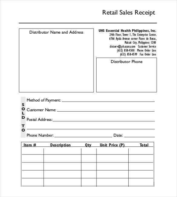13 Free Sales Receipt Templates Ms Word Excel Pdf Formats Receipt Template Free Receipt Template Templates Printable Free