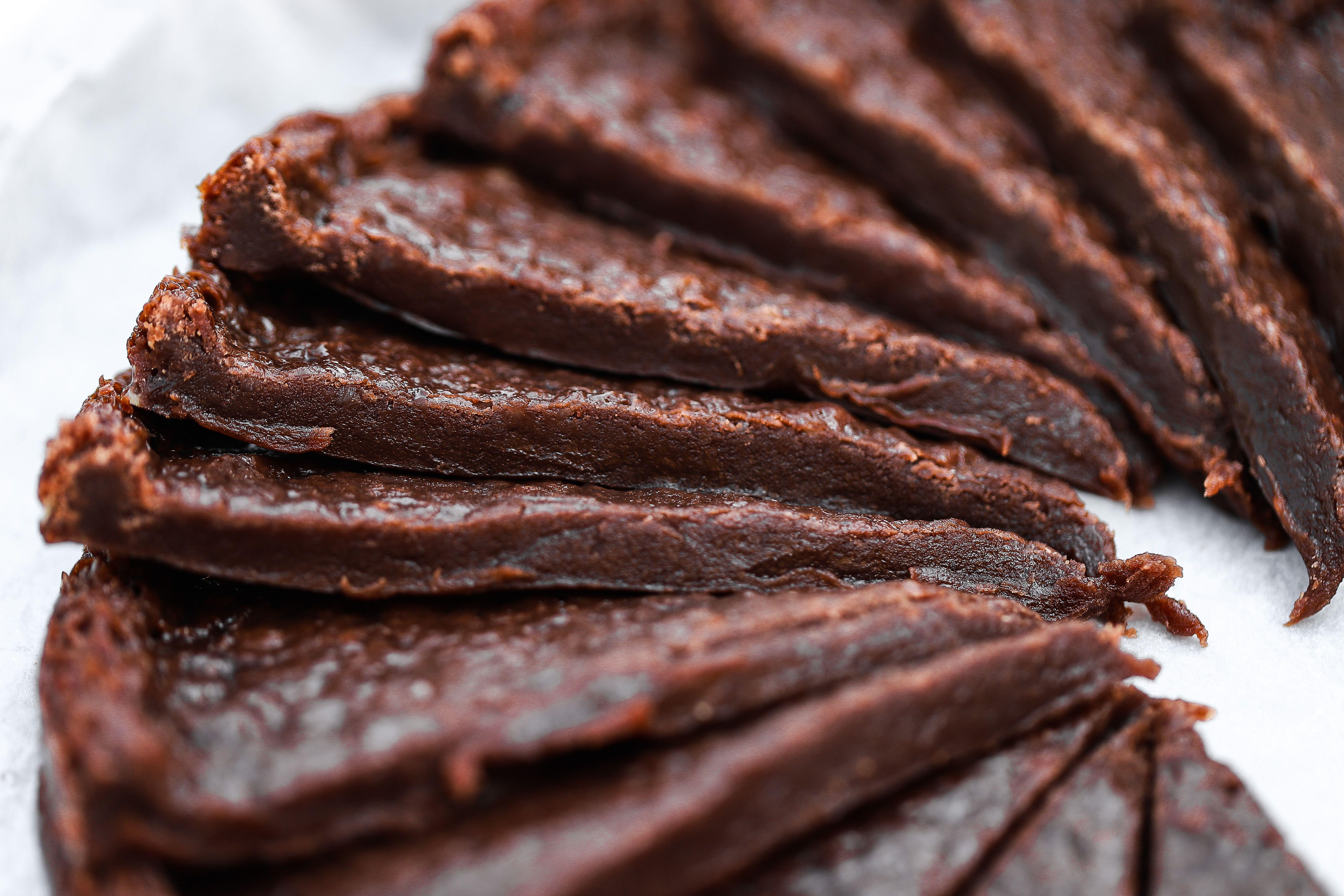 vegansk kladdkaka mörk choklad