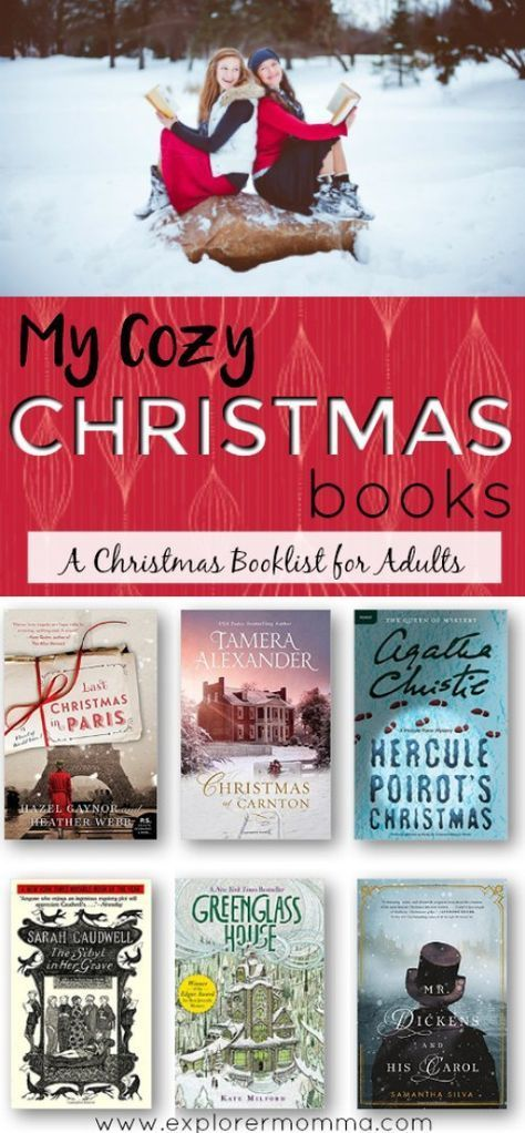 My Cozy Christmas Books: A List #dolistsorbooks