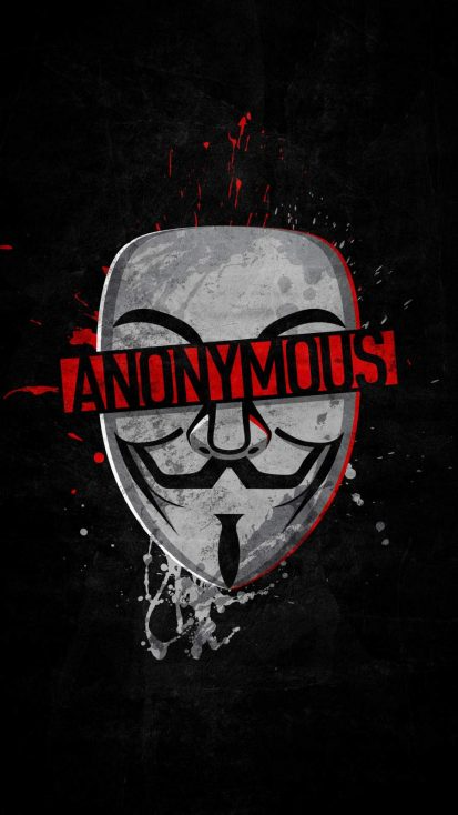 Anonymous iPhone Wallpaper - iPhone Wallpapers
