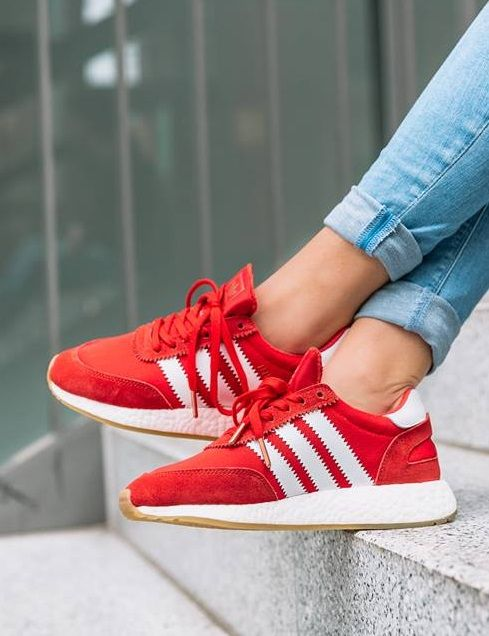 new product fe32a 56dfb adidas Originals Iniki  Red