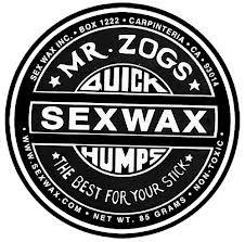 MR ZOGS Sex Cera Adesivo