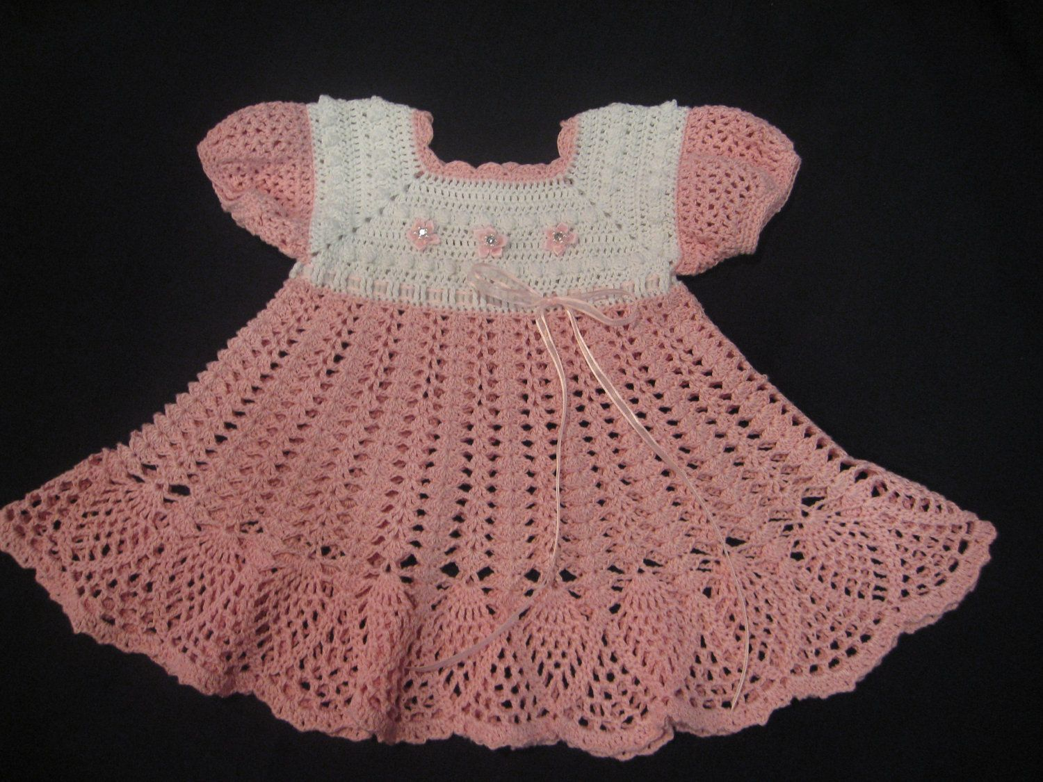 Easy Crochet Baby Dress | Dress for Baby Girl Crochet Pattern PDF by ...