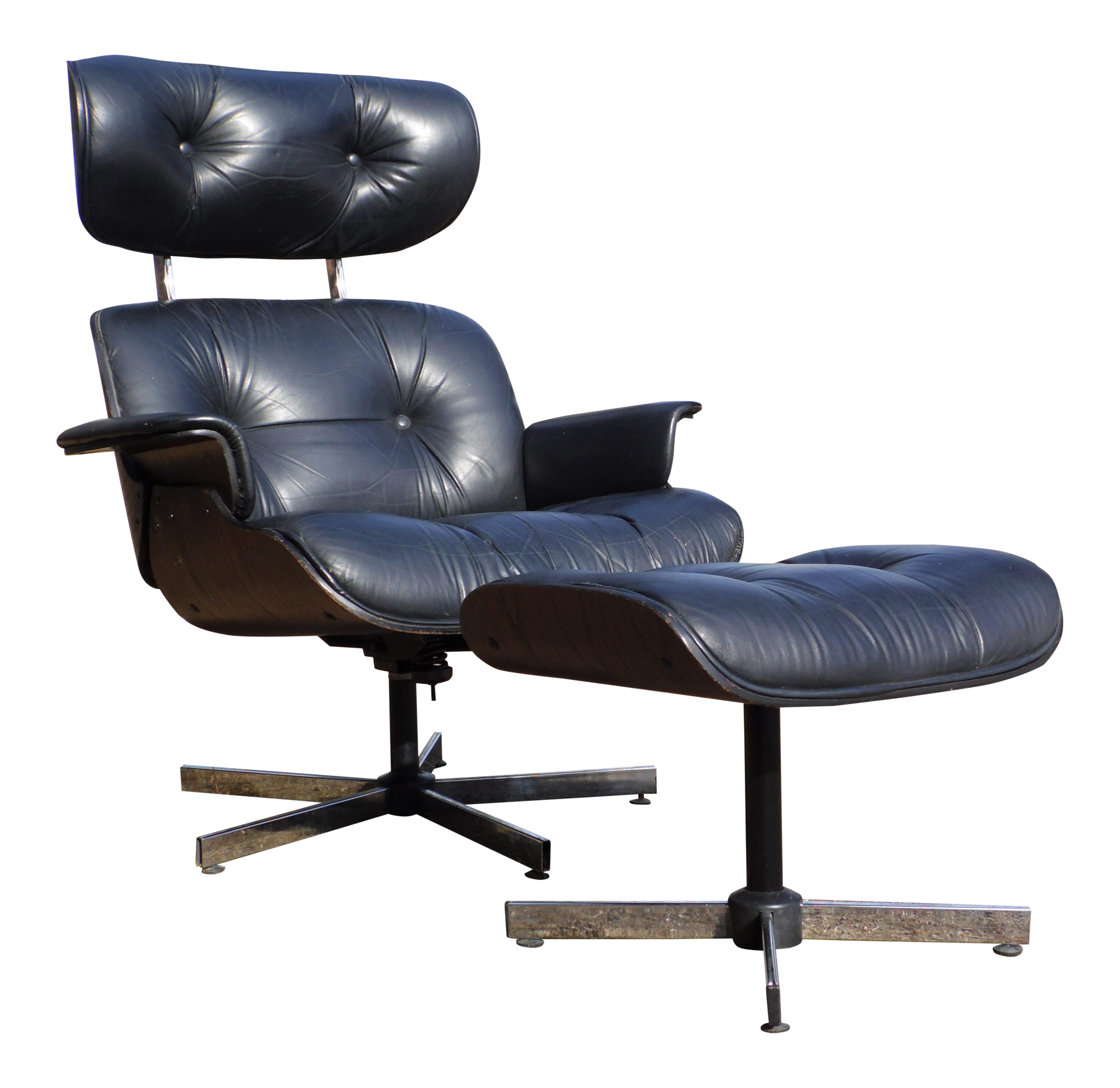 1960s plycraft midcentury lounge chair u0026 ottoman - Mid Century Lounge Chair