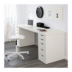 Mesa Despacho Ikea Blanca.Mesa Linnmon Alex Blanco Escritorios Escritorio Ikea