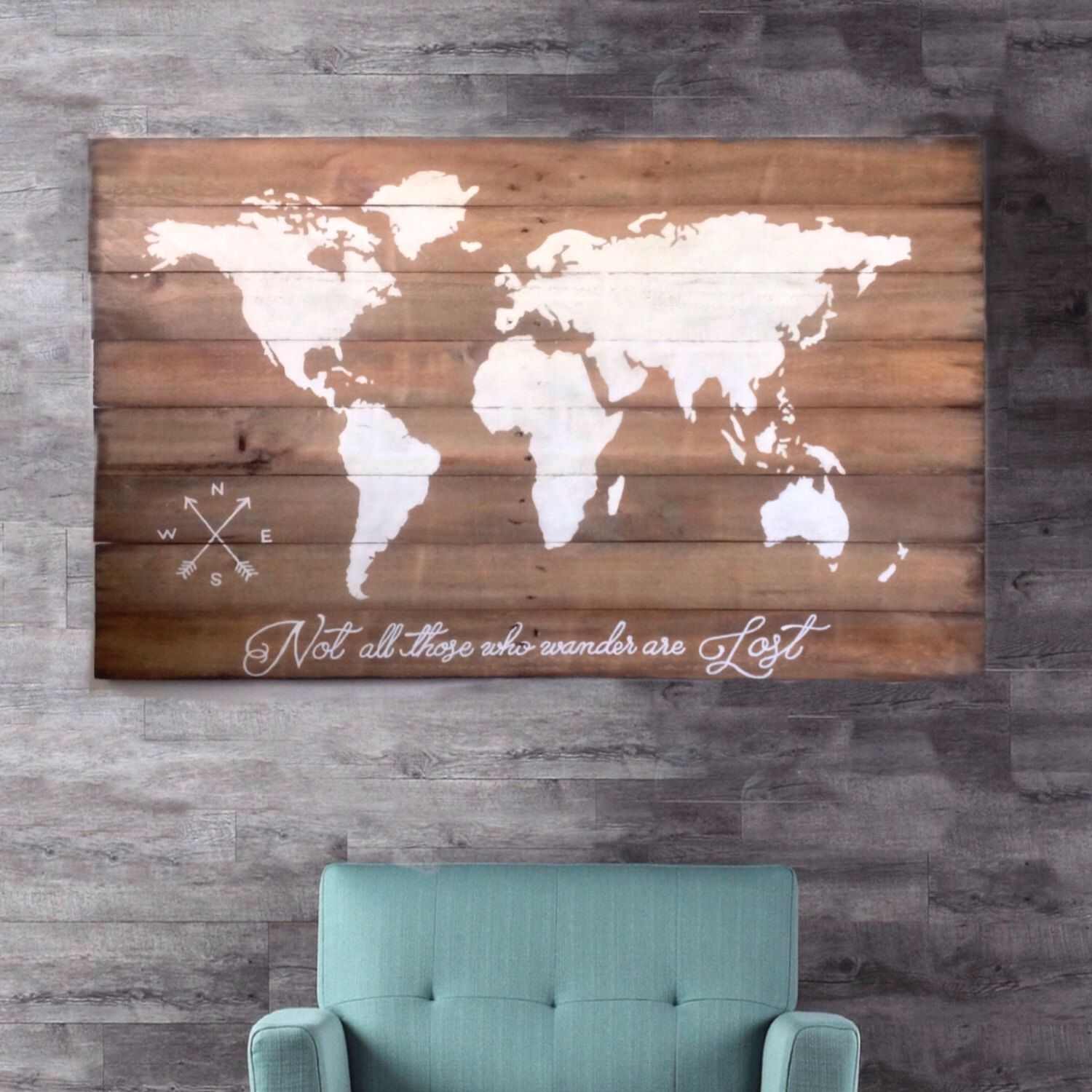 Large wood map 24x36 httpsetsycalisting289831005 wood world map wall art large wall art map reclaimed wood wood wall art wood signs riversidestudio rustic pallet wood furniture gumiabroncs Image collections