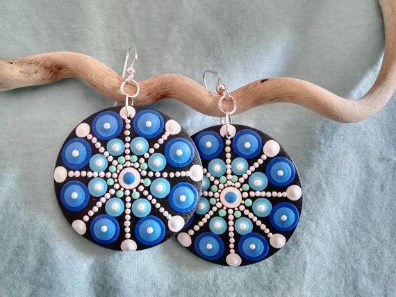 Sueño de mar inspiración Mandala pendientes de por Mandalaole