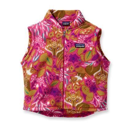 Baby Synchilla 174 Fleece Vest Girls Fleece Jacket Fleece