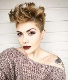 Schöne Hair Styling Tipps Für Pixie Cuts Hairygirl Pinterest
