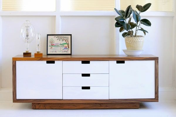 Fascinating White Cabinet Mid Century Modern Furniture Nyc ... | Furniture    Next House! | Pinterest | Furniture Nyc, Mid Century Modern Furniture And  ...