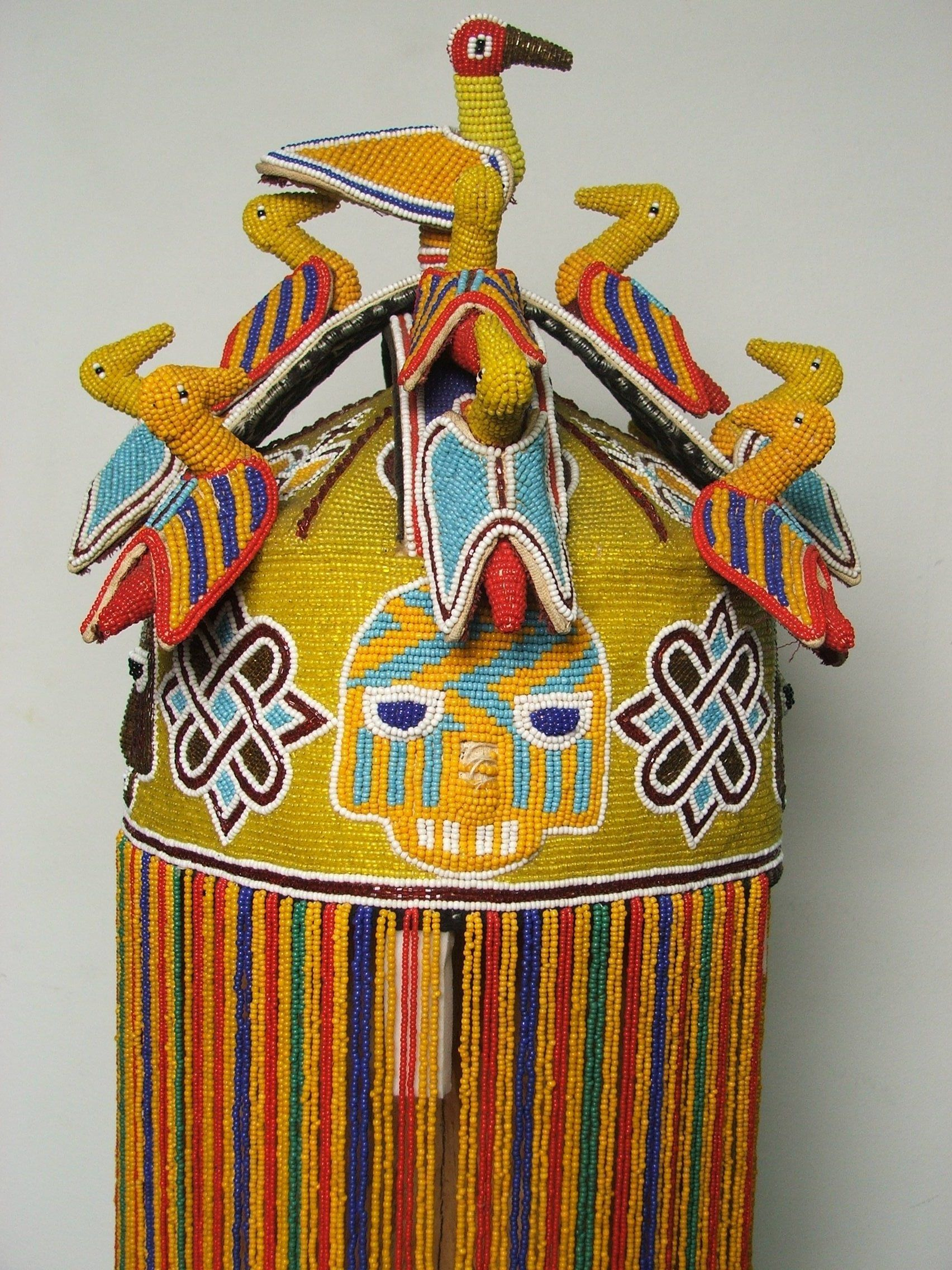 Yoruba ade oba adnl kings beaded crown nigeria african yoruba ade oba adnl kings beaded crown nigeria biocorpaavc Choice Image