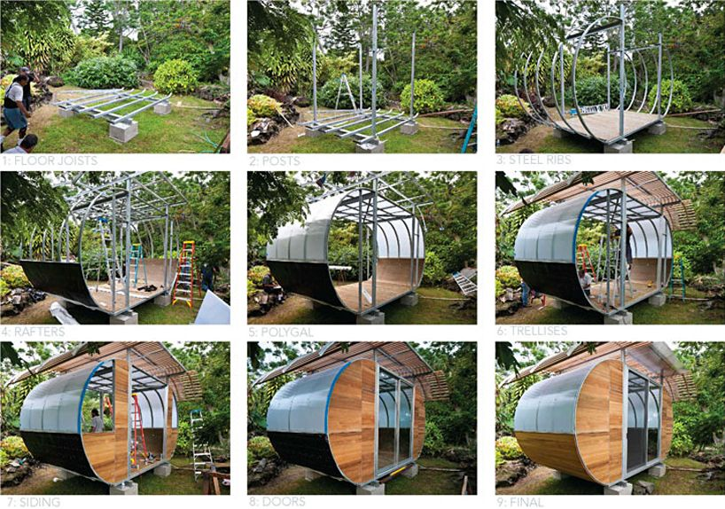 Chae Won Kim And Beat Schenk Of Design Build Company Uni Created Xs House In Cambridge Ma on