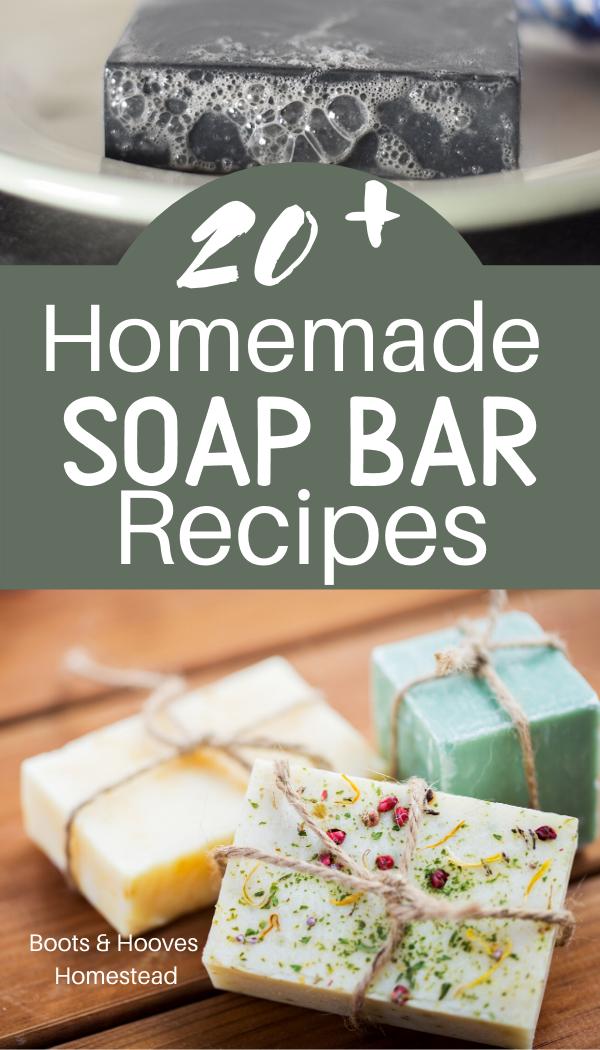 All Natural Homemade Soap Bar Recipes Homemade soap bars