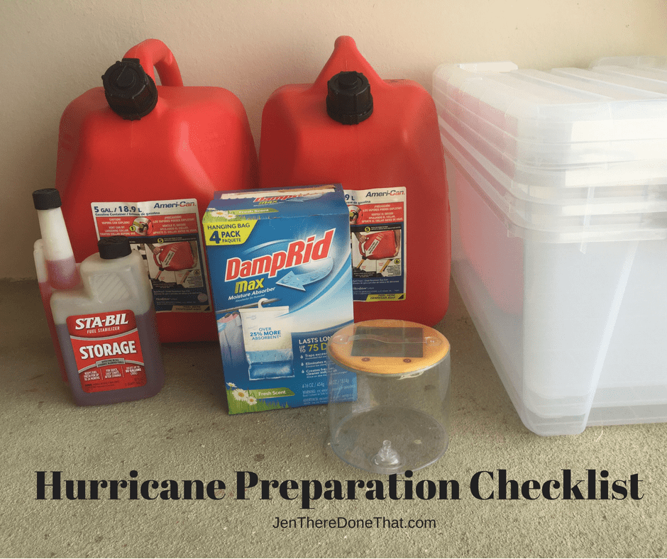 Hurricane Preparation Checklist #hurricanefoodideas